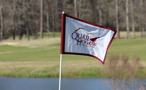 Quail Hollow Tee Flag