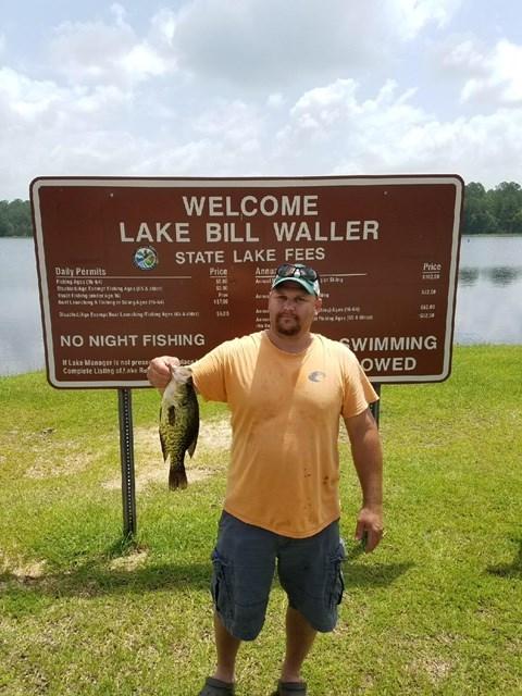 Mdwfp lake bill waller for Mdwfp fishing reports
