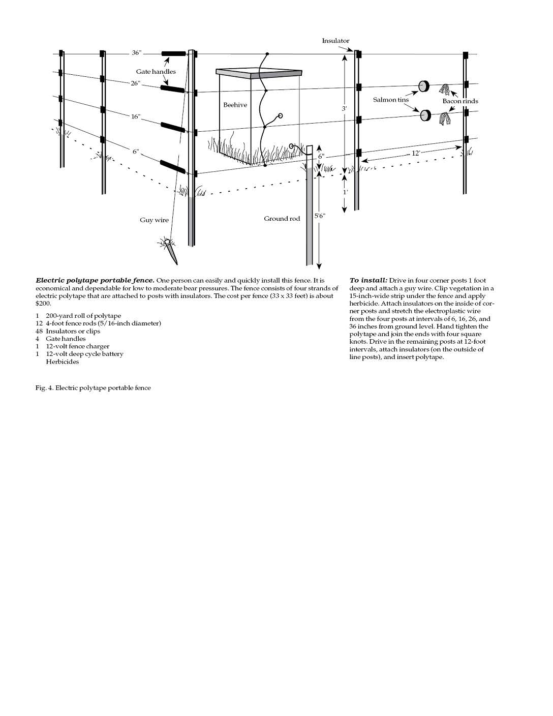 Residential Electric Fence Wire Diagram Construction