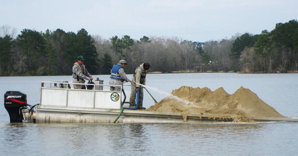 Consider adding lime to fertilizer for winter pond management for Fish pond fertilization