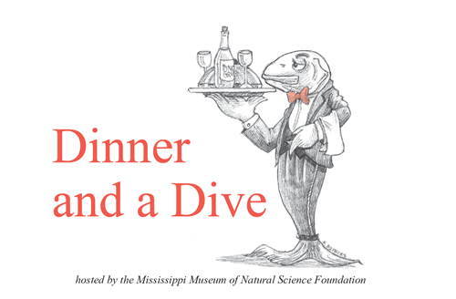 dinner and a dive 2019 at mdwfp's mississippi museum of natural science